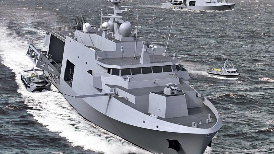 Baliño se adjudica un 'megapedido' para 12 buques antiminas de Bélgica y Países Bajos
