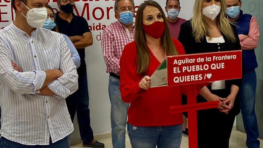Esther Ruiz asume la secretaría general del PSOE de Aguilar