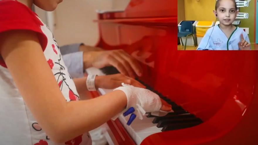 Homenaje a los menores ingresados por el Día del niño hospitalizado