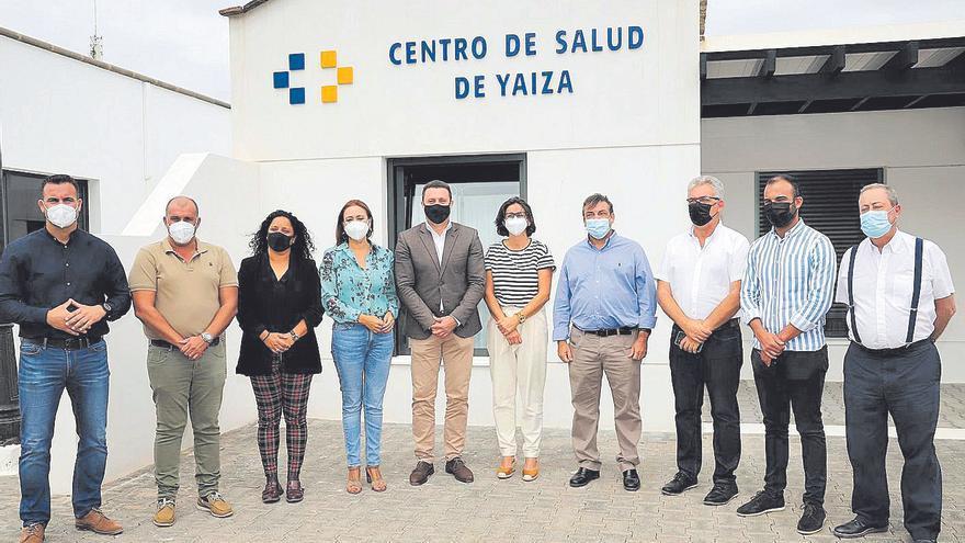Yaiza reabre su centro de salud  en unas instalaciones renovadas