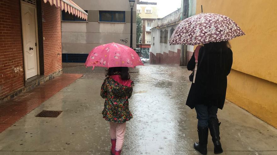 La lluvia deja casi 30 litros en una hora en algunos puntos de la provincia de Málaga