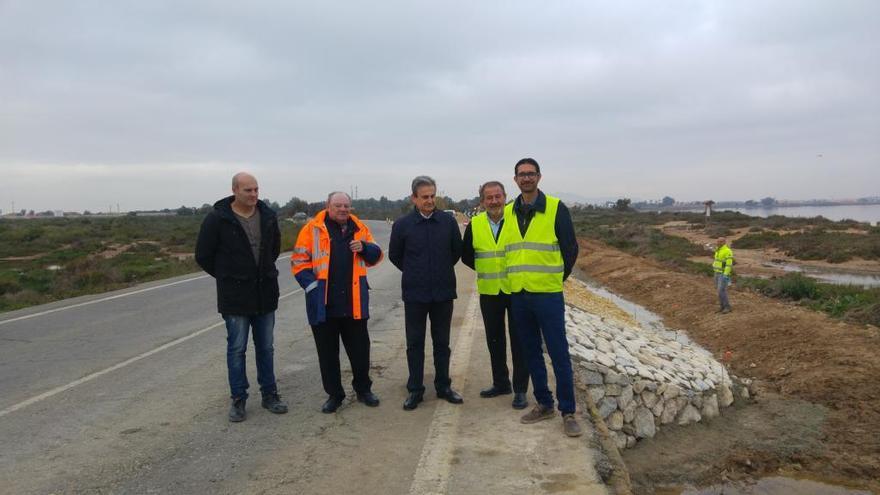 Concluyen las obras de la carretera que conecta Los Belones, Los Nietos y Los Urrutias