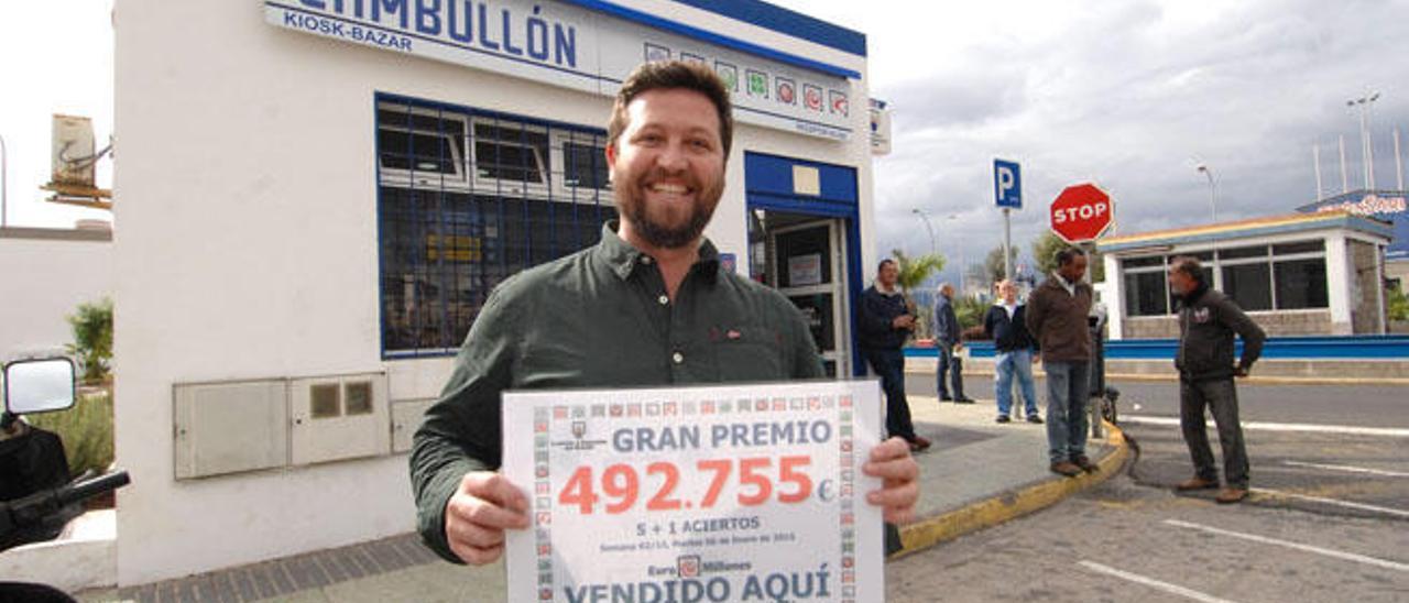 El Euromillón deja en el Puerto más de 492.000 euros a un único acertante