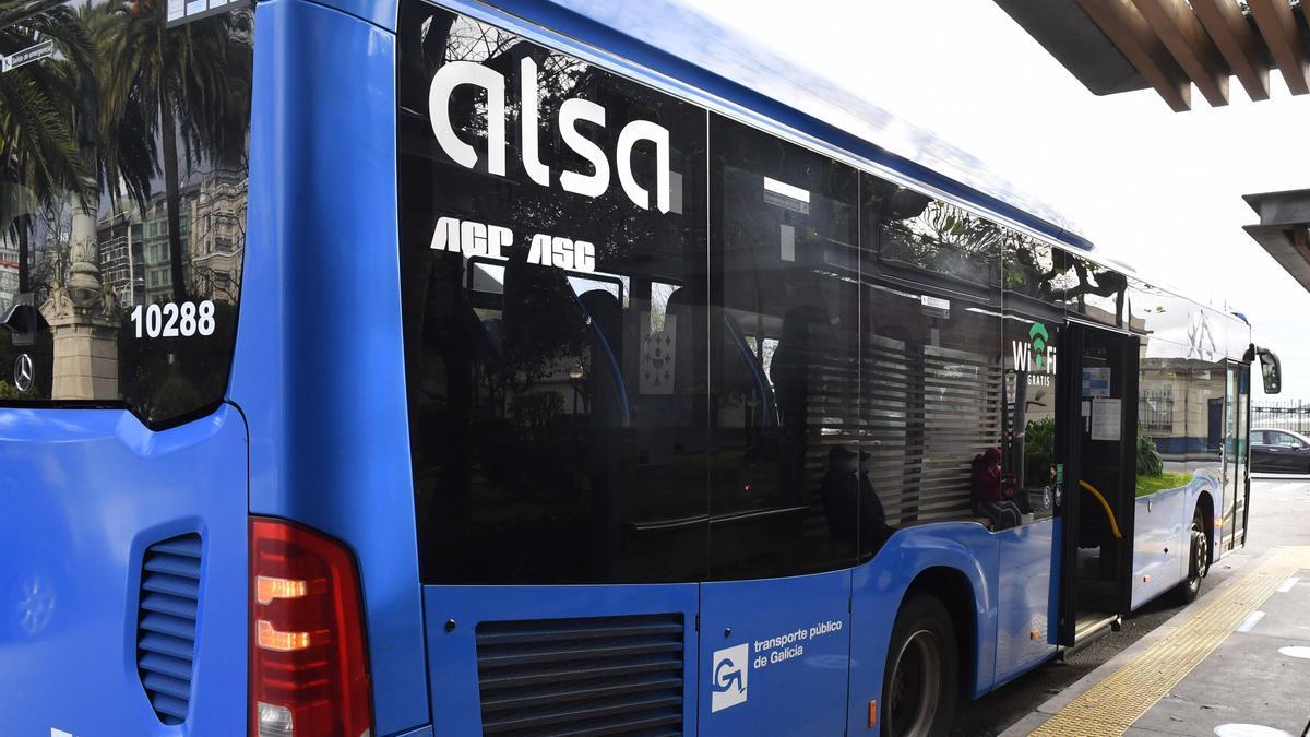 Autobús de Alsa