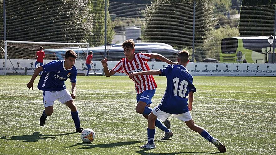 Los alevines cierran la Oviedo Cup