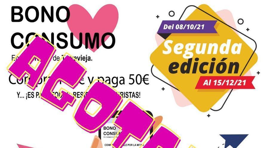 La demanda de Bono Consumo liquida medio millón de euros del presupuesto de Torrevieja en 5 horas