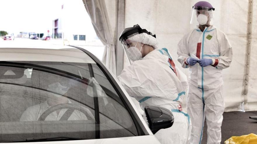 coronavirus | Pruebas Covid en la Dársena Pesquera de Santa Cruz de Tenerife