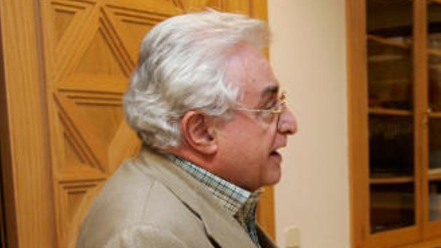 Muere Alfonso Chiscano Díaz, Medalla de Oro de Canarias en 1999