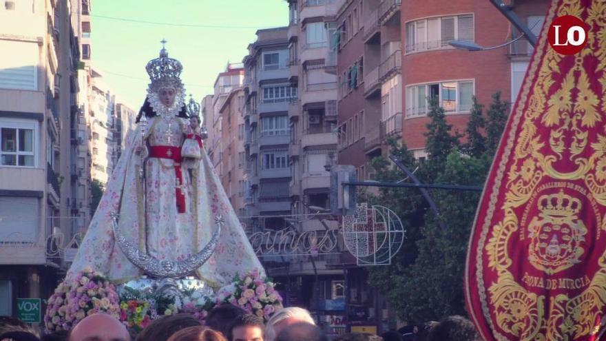 Murcia despide hoy a su patrona