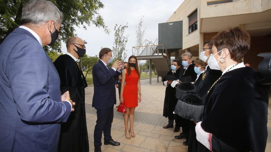 Puig anuncia una mayor inversión en ciencia en la apertura del curso universitario