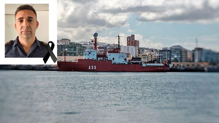 Fallece por Covid-19 en el Negrín un oficial de la Armada del buque oceanográfico 'Hespérides'
