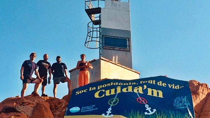 Palamós Les illes Formigues i la posidònia