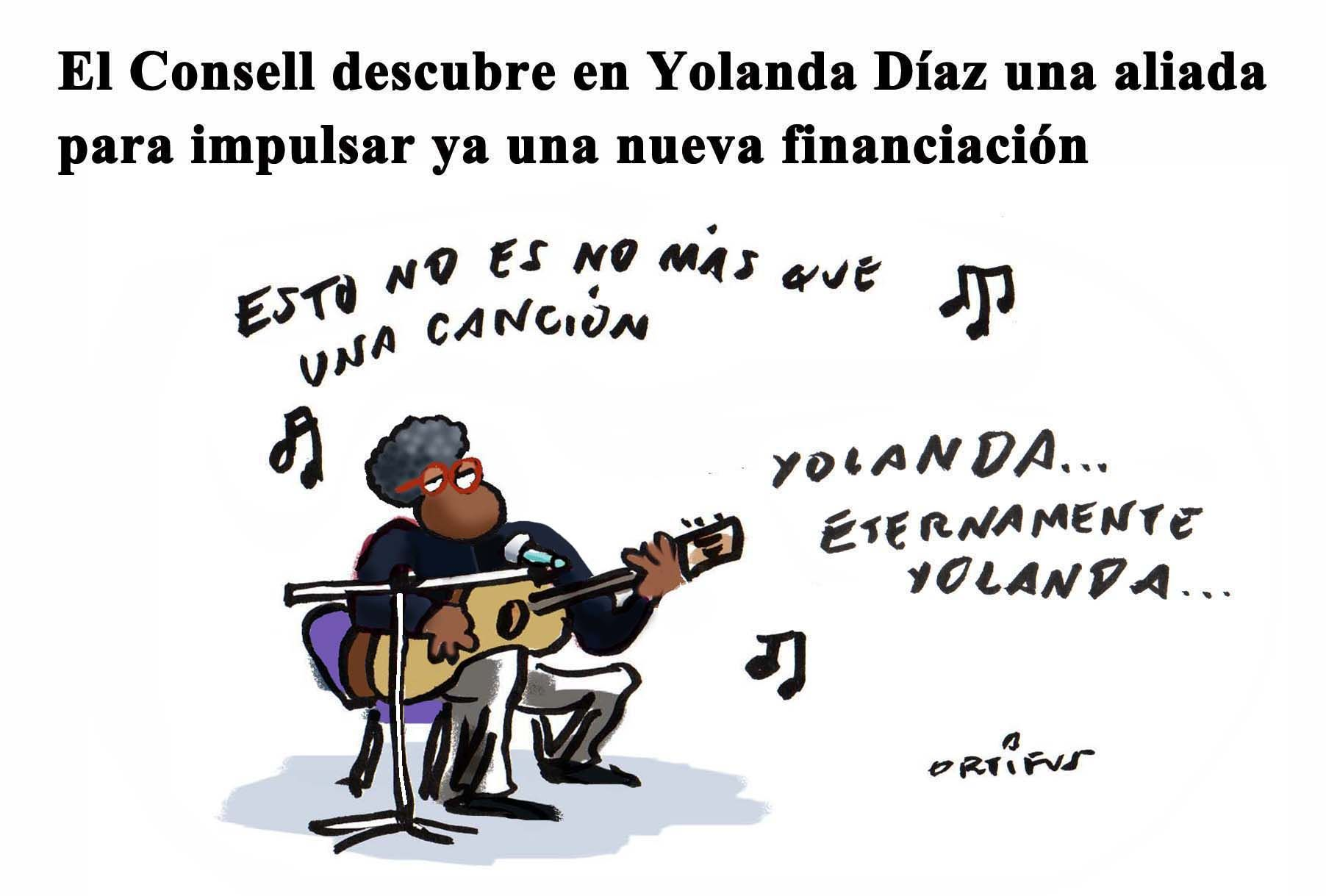 El Consell descubre en Yolanda Díaz una aliada para impulsar ya una nueva financiación