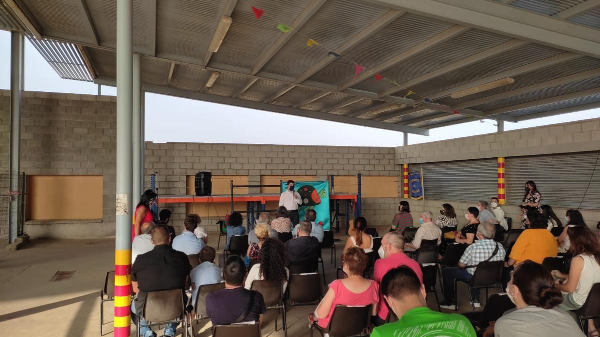Presentación del proyecto celebrada en Mainar