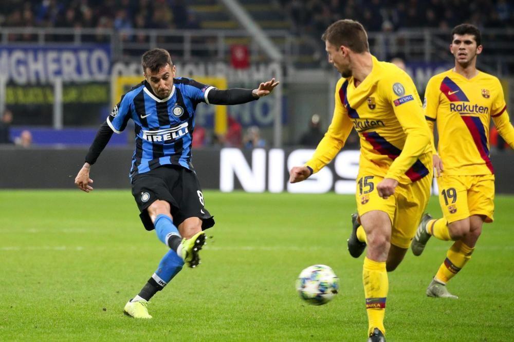Inter de Milán - Barcelona, en imágenes