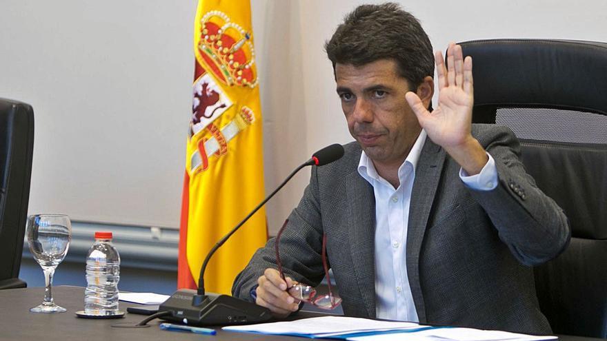 Mazón apunta a València: pide intervenir en las Cortes contra el plan inversor de Puig
