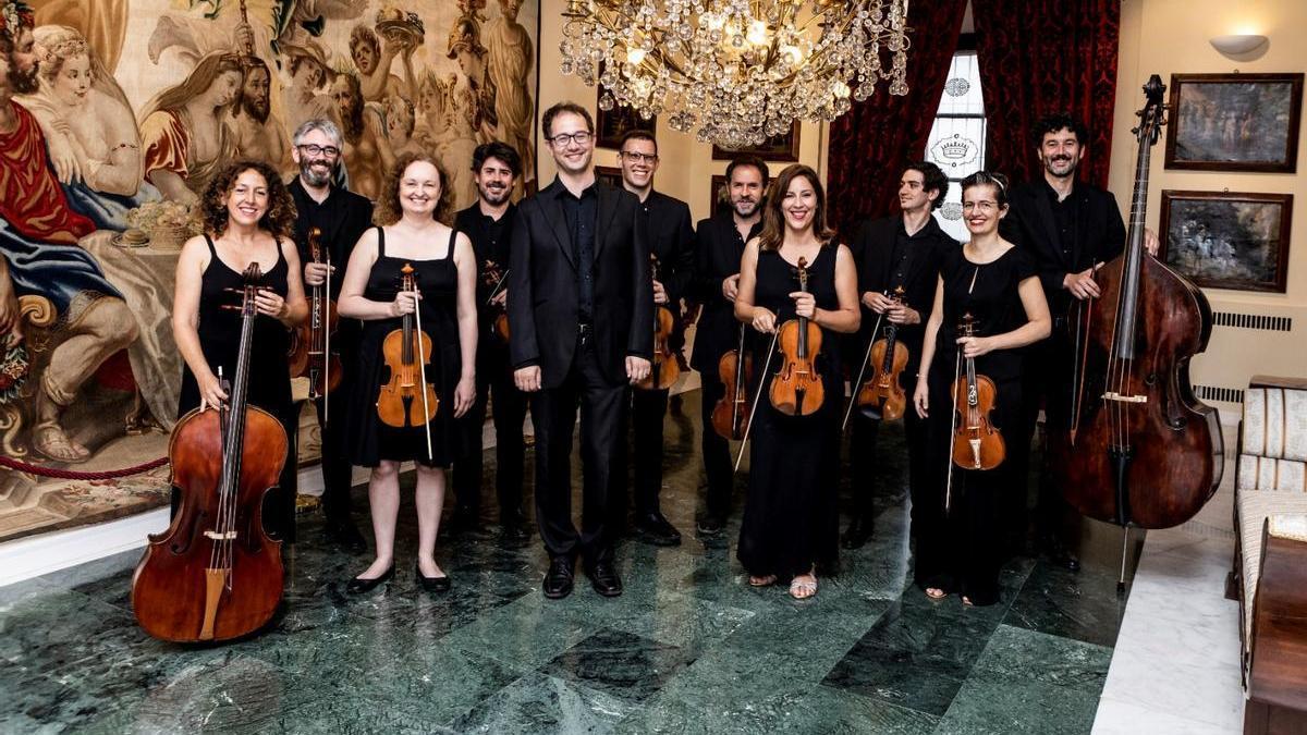 Imagen de archivo de la Orquesta Barroca de Badajoz.