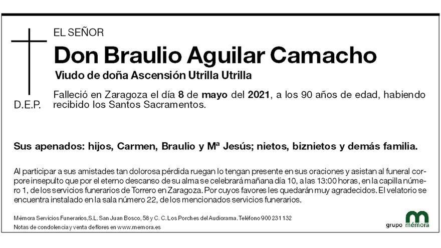 Braulio Aguilar Camacho