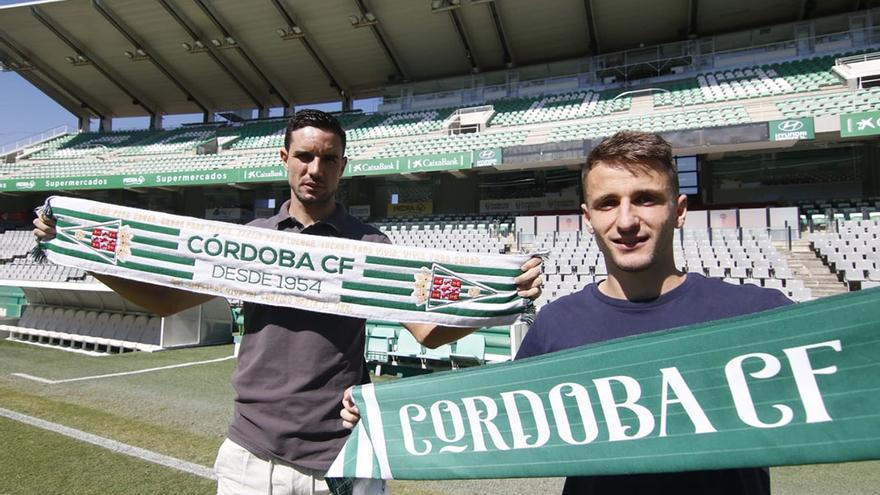 Ekaitz y Toni Arranz, dos pilares para el futuro Córdoba CF
