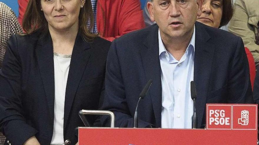 """El PSdeG reabre su crisis y Sánchez achaca la debacle a que el PP """"lo hizo bien en campaña"""""""