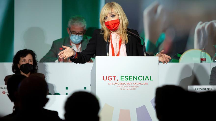 UGT-A reelige a Carmen Castilla