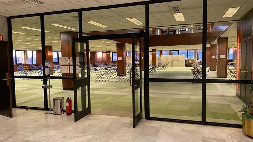 La UVigo abre 156 puestos de estudio en el edificio de Zona Franca de López Mora