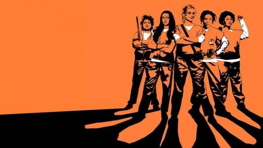 """Orange is the new black"", lista para escapar"