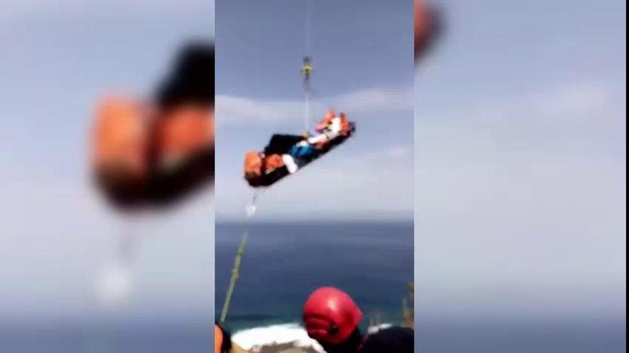 Rescatado un senderista tras sufrir una caída en Tenerife