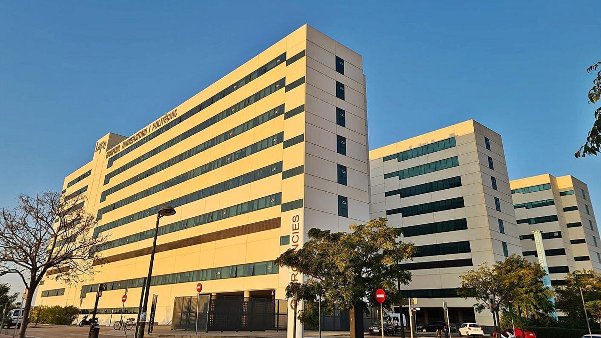 Hospital Universitari i Politècnic La Fe de València.   EP