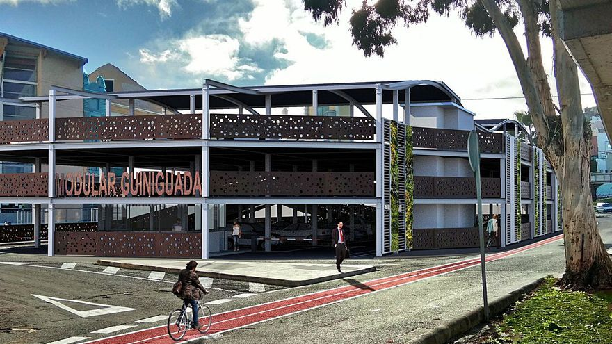 Sagulpa construirá un nuevo parquin  de 234 plazas en el Guiniguada