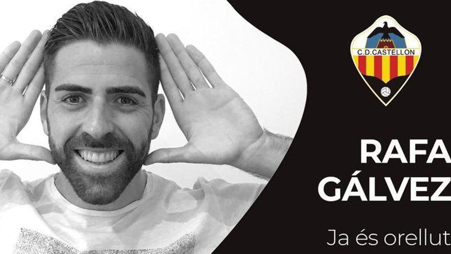 El Castellón firma músculo y experiencia para la medular con Rafa Gálvez