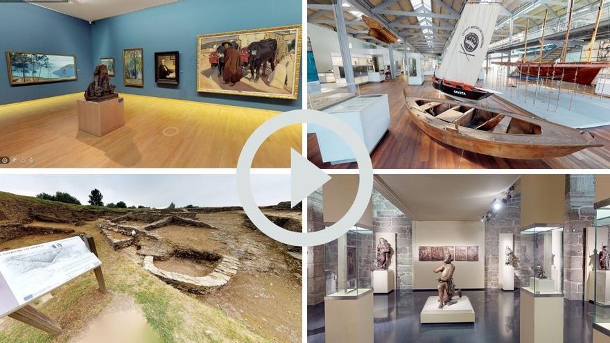 Tour virtual: 11 museos de Galicia que esquivan las restricciones por el COVID