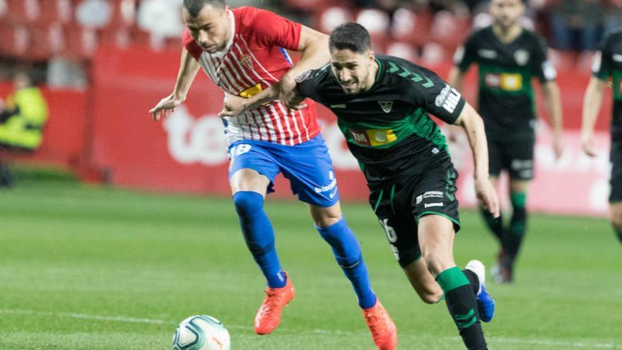 Crónica del Sporting de Gijón - Elche CF
