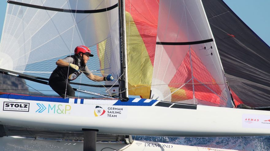 Second phase of the Lanzarote Olympic Winter Regatta