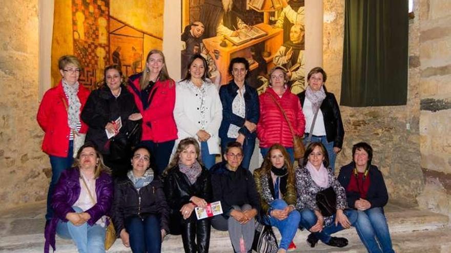 Turistas madrileños y zamoranos visitan Tábara