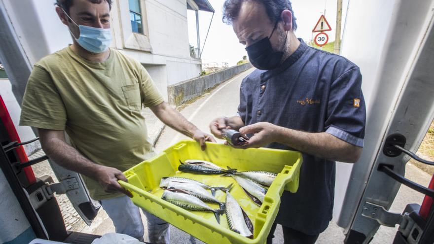 Asina escueye Nacho Manzano, de Casa Marcial, el pescáu fresco pa les sos ellaboraciones