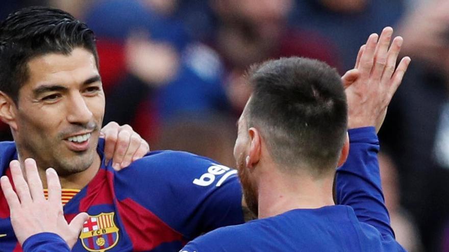 Setién confirma que Messi y Suárez estarán en Mallorca