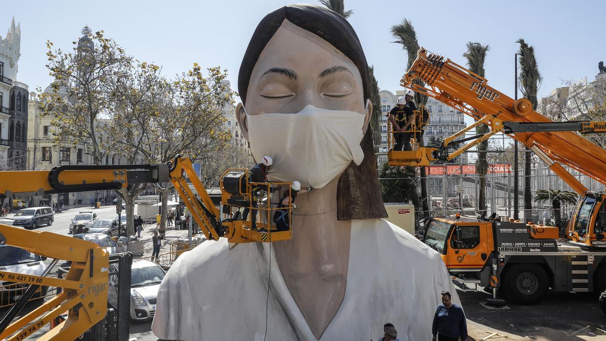 El alcalde de València confirma que las Fallas no serán en marzo.
