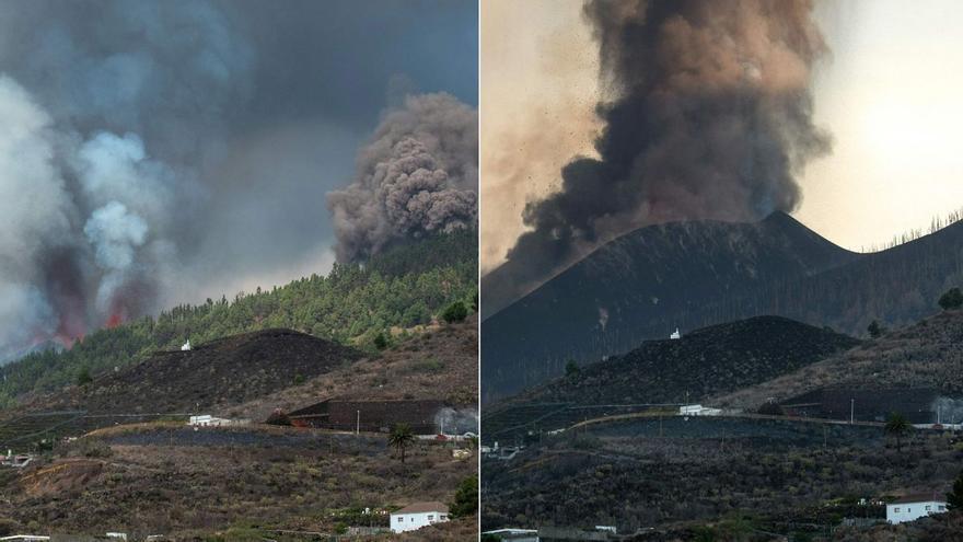 L'espectacular transformació de La Palma després de l'erupció del volcà