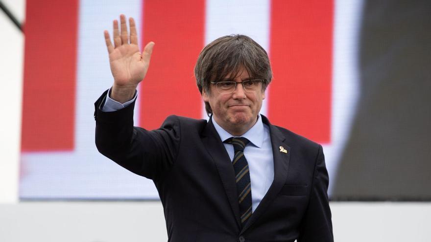 Carles Puigdemont, detingut a Sardenya