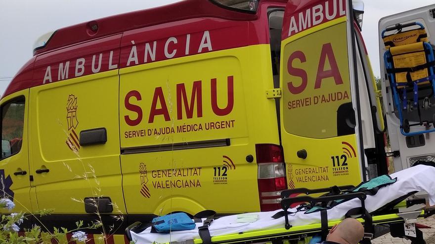 Salvan a un niño de 2 años que cayó a una piscina de Benissa