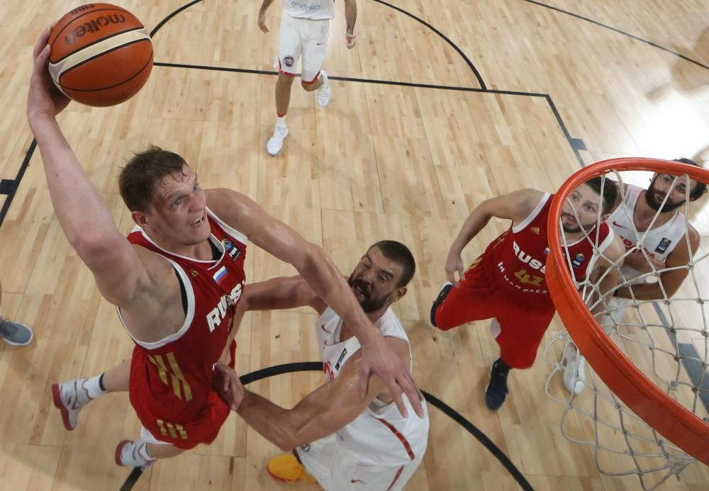 Eurobasket: España- Rusia