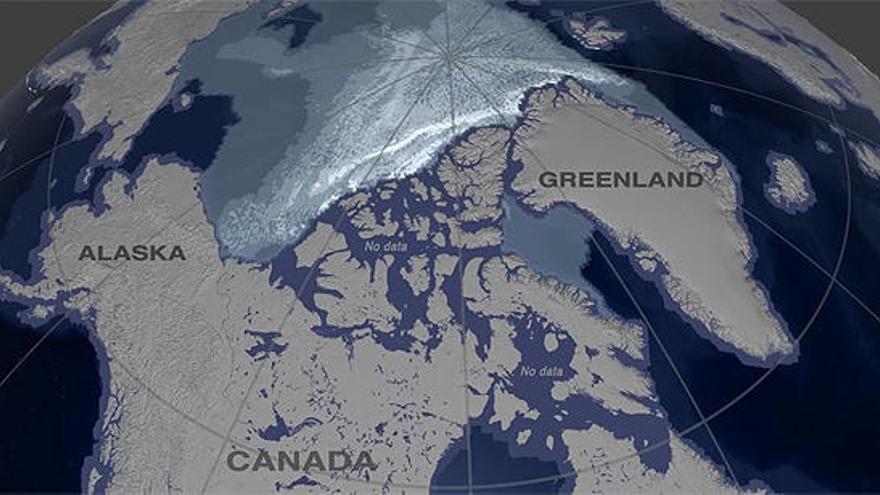 El hielo marino más antiguo del océano Ártico se derrite dos veces más rápido