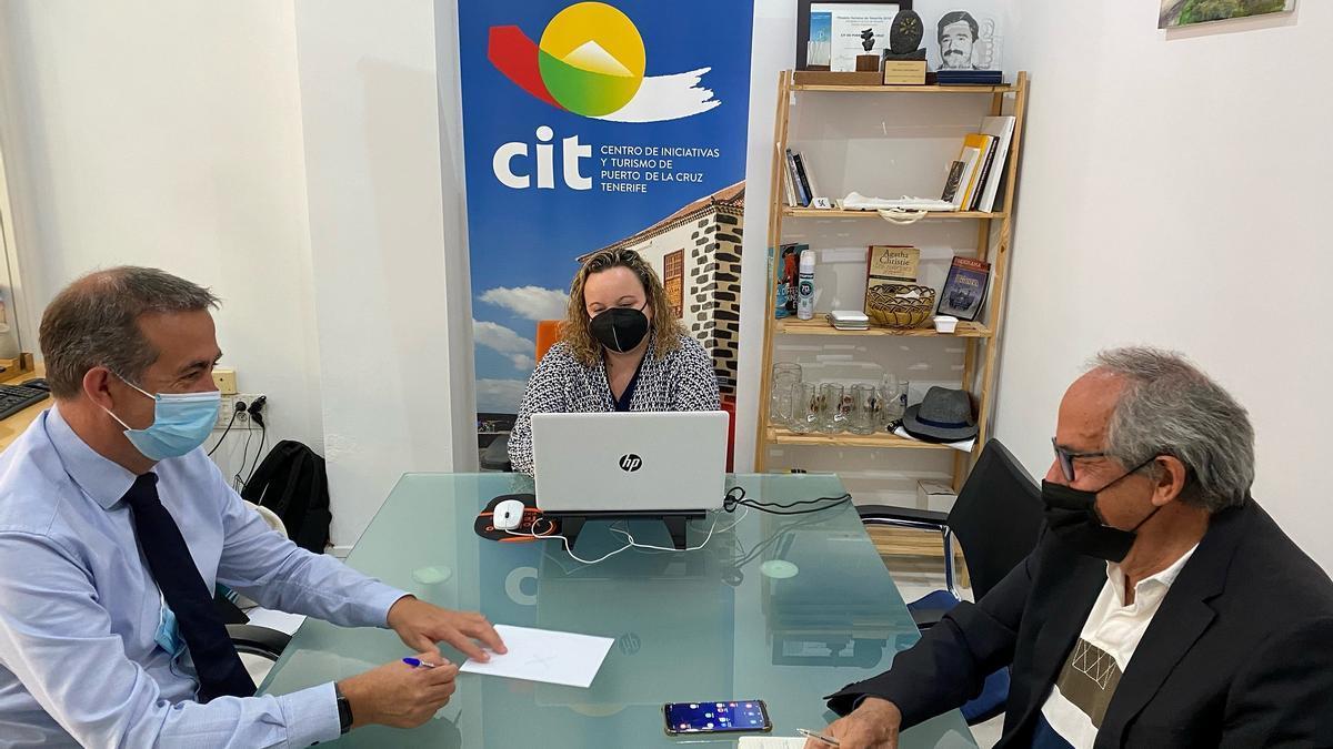 La reunión entre el CIT portuense y Ashotel