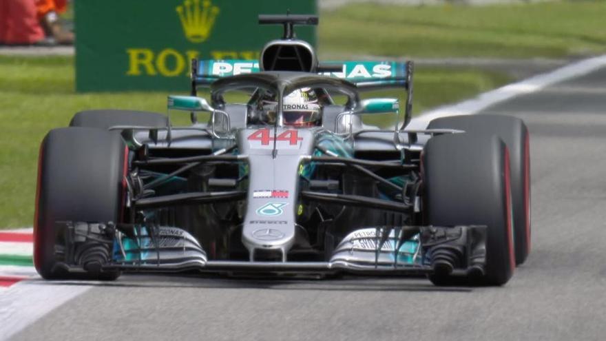 Hamilton aconsegueix una victòria clau a casa dels Ferrari