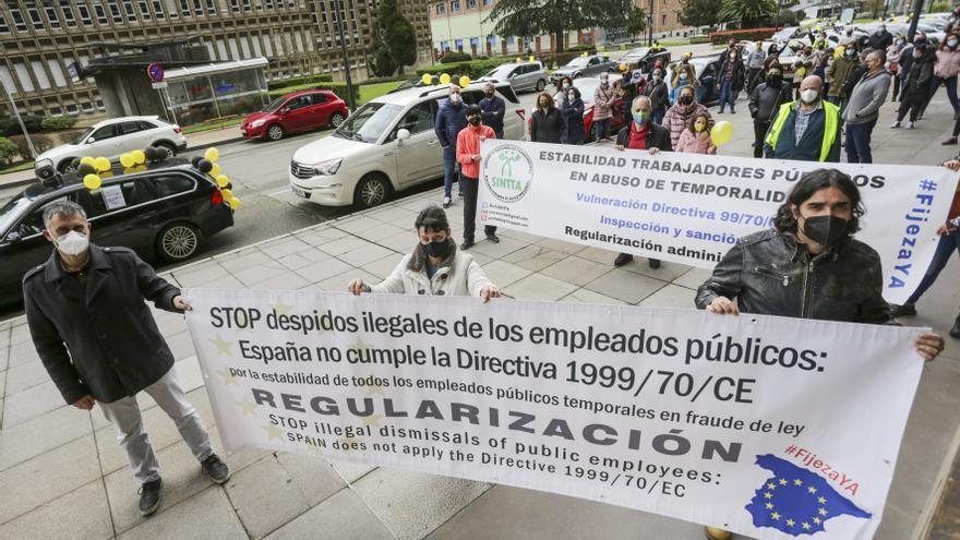 Los interinos abren batalla penal contra los políticos en defensa de sus puestos