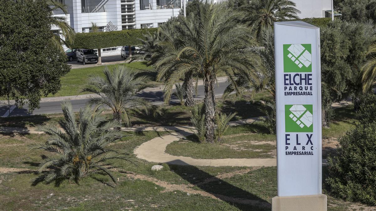 El Parque Empresarial de Torrellano, en Elche, en una imagen de archivo