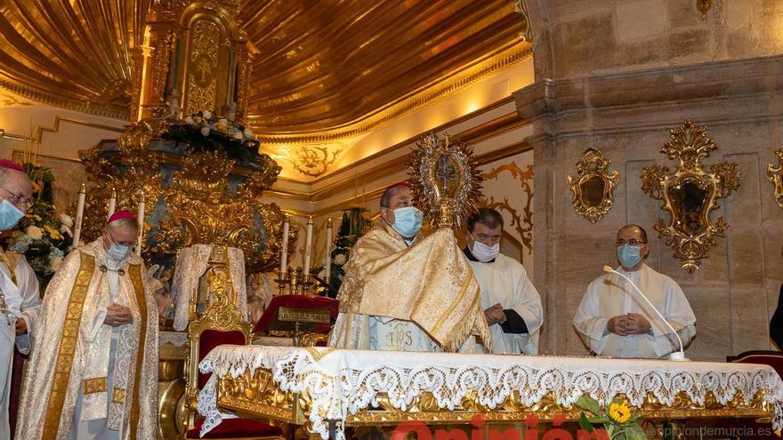 El nuncio de su Santidad concluye su visita a la Diócesis en Caravaca