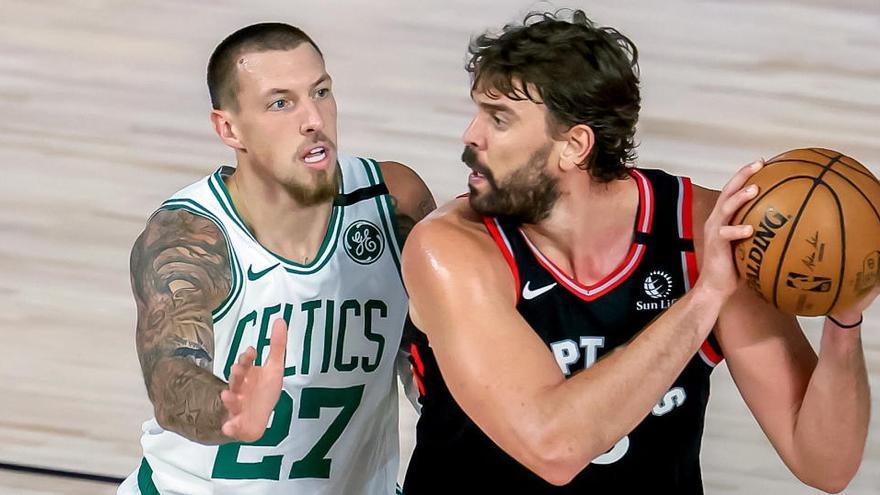 Los Raptors y los Nuggets ganan y empatan sus series ante Celtics y Clippers