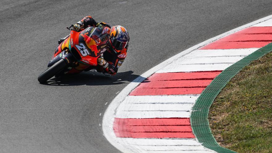 Raúl Fernández se apunta su cuarta 'pole' en Moto2